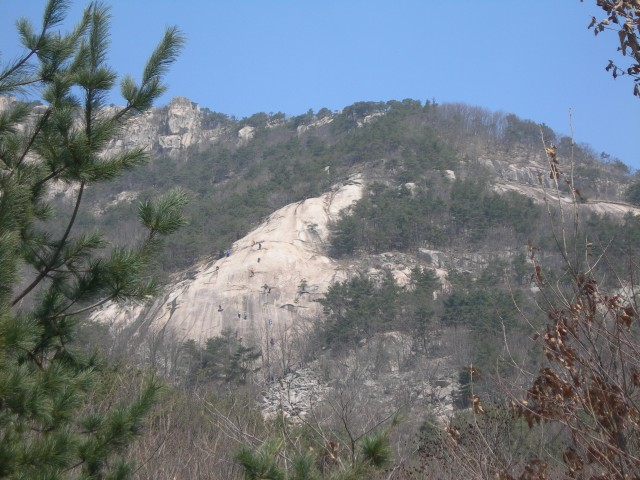 Photo of Baekunsan Slab Rock